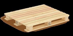 chemical treatment wooden pallet