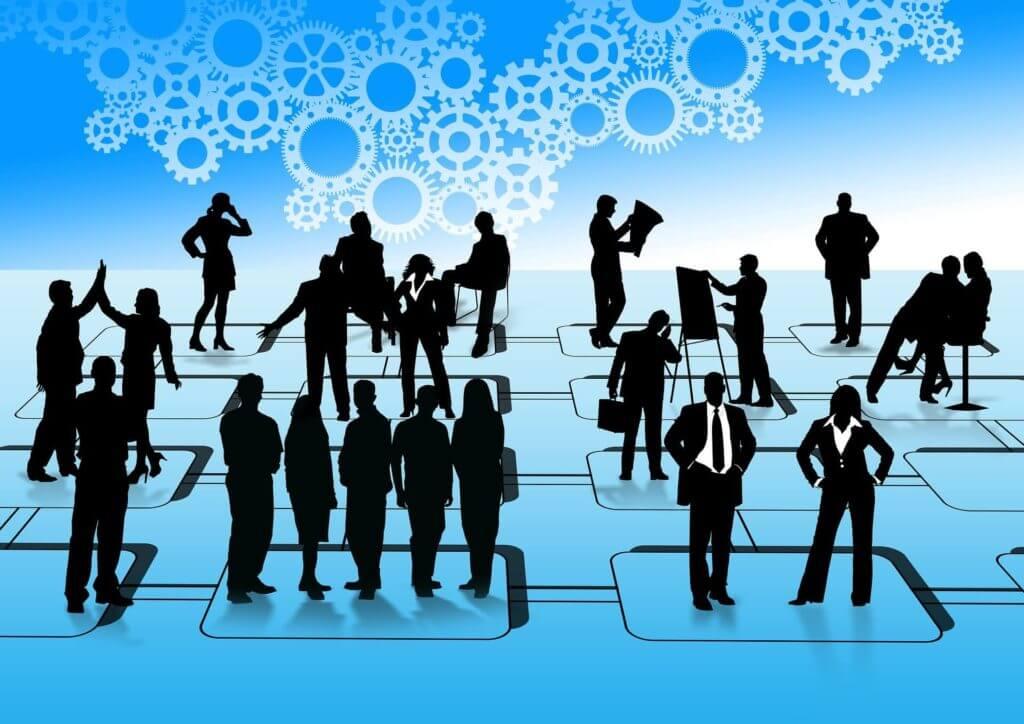 businessmen group