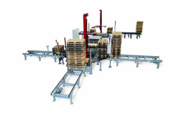 Automatic Pallet Sorting Line