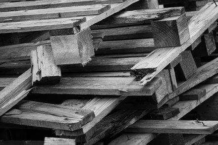 Broken free pallets