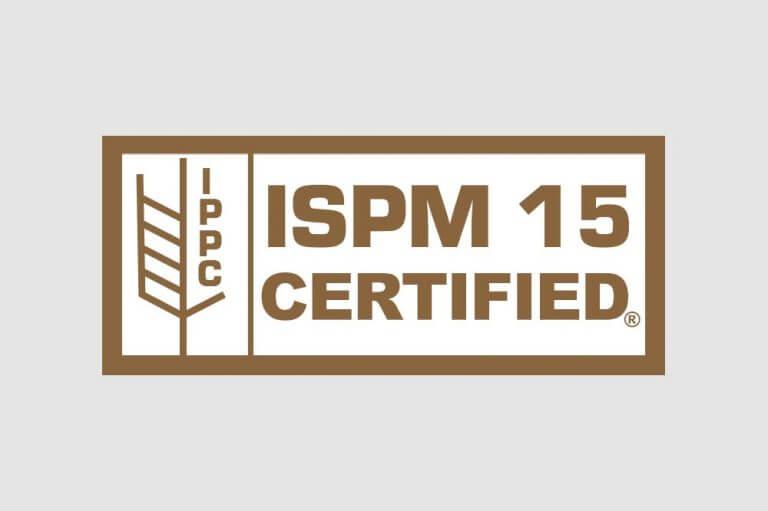 ISPM15 Sertified